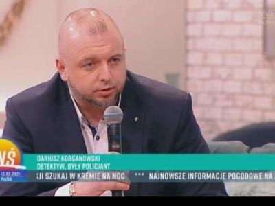 Detektyw Korganowski w Telewizji Polskiej