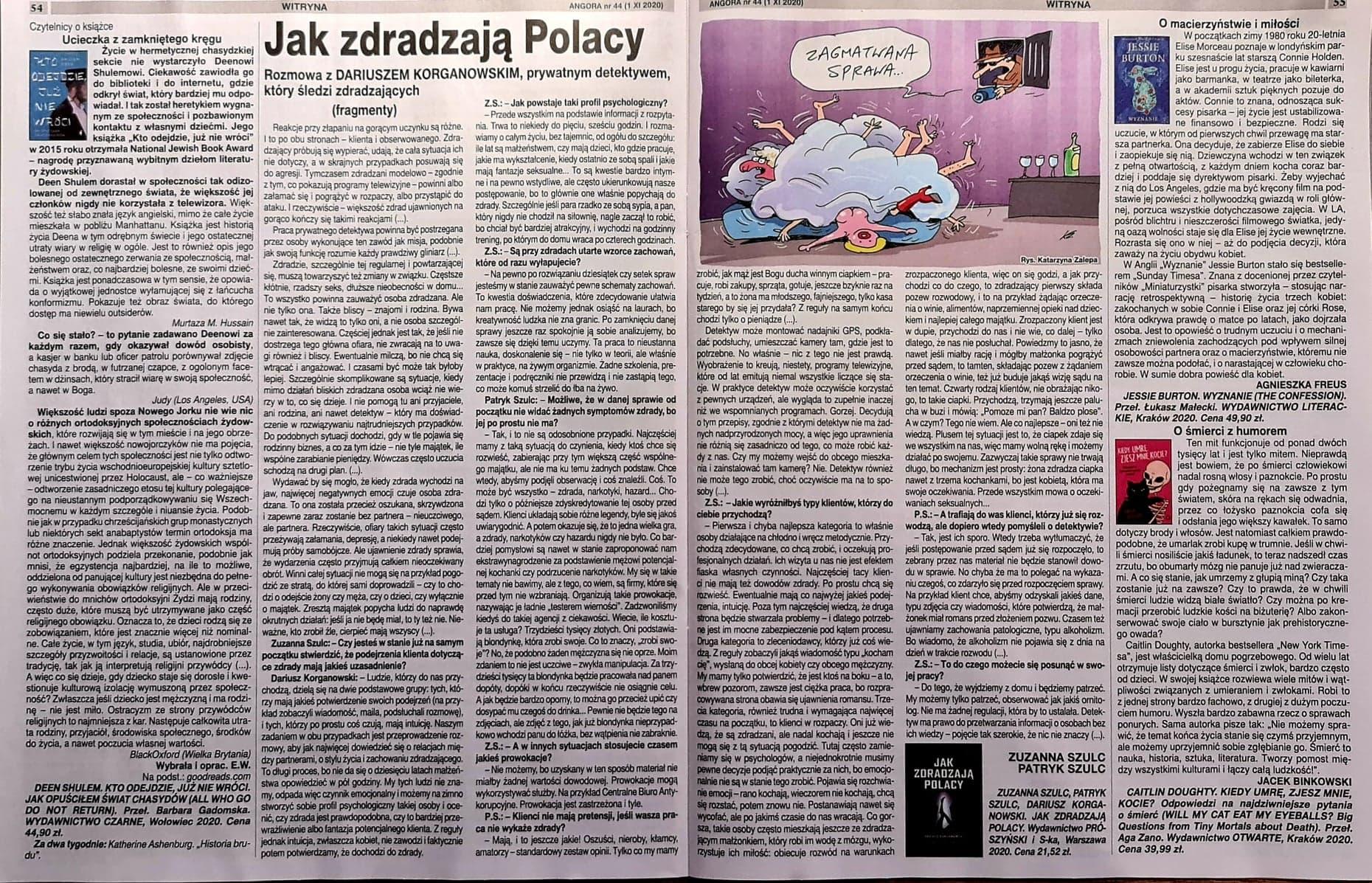 Jak zdradzają Polacy – Angora.pl